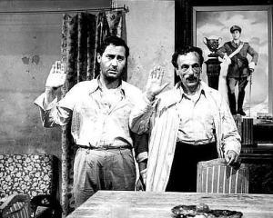 "Alberto Sordi ed Eduardo De Filippo (""Tutti a casa"")"