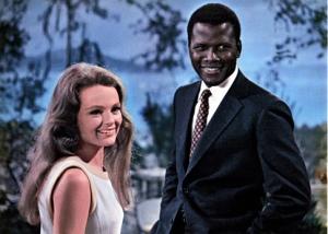 Katharine Hughton e Sidney Poitier