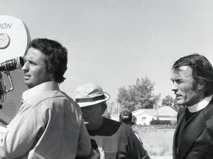 "Cimino e Clint Eastwood sul set di ""Thunderbolt And Lightfoot"""