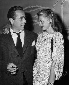 Humphrey Bogart e Lauren Bacall