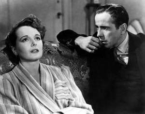 Mary Astor e Bogie
