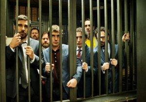 Leo, Stefano Fresi, Pietro Sermonti, Libero de Rienzo, Valerio Aprea. Paolo Calabresi e Lorenzo Lavia (Movieplayer)