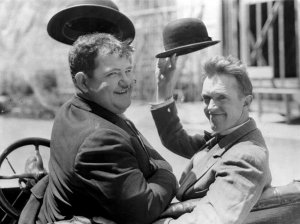 Oliver Hardy e Stan Laurel